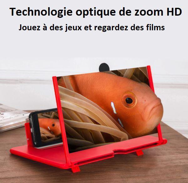 red1 Amplificateur D'ecran Smartphone Pliable