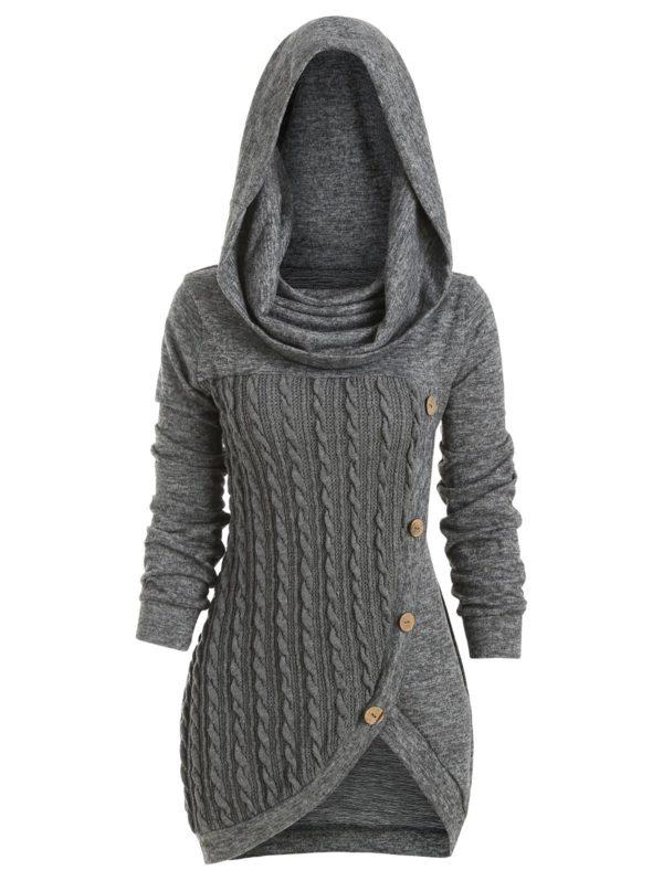 robe capuche 68fb8d76 54ca 43a4 a510 ee9a0d587614 Robe En Laine, La Meilleure Robe Prêt-À-Porter Pour Femme En Ligne