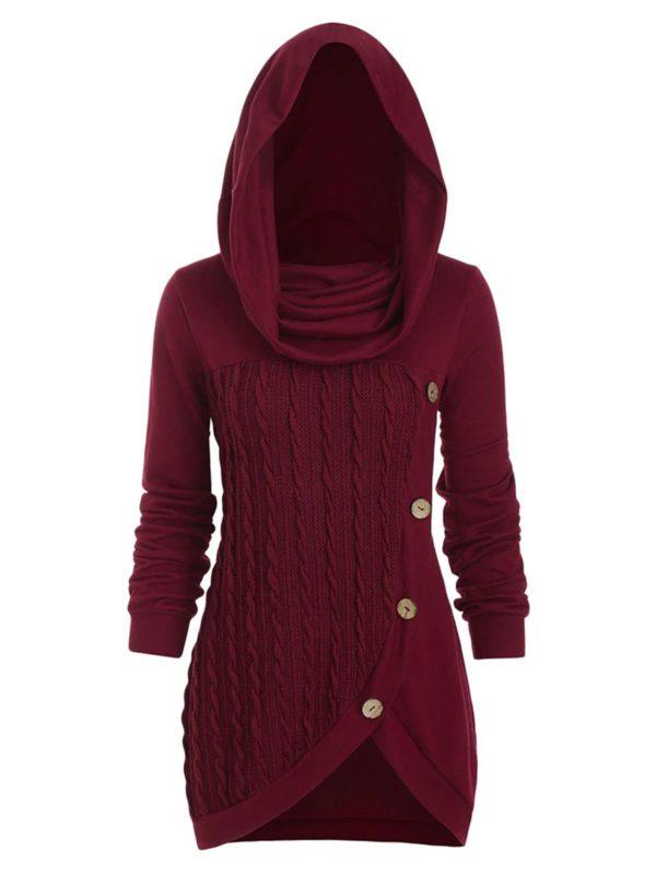 robe sweat capuche oversize 0252c603 80ab 4421 8350 0f4fc7610935 Robe En Laine, La Meilleure Robe Prêt-À-Porter Pour Femme En Ligne