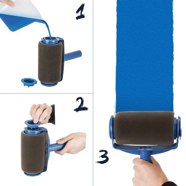 rouleaupeintureavecreservoir Le Pack Paint Runner Pro Pour Des Travaux De Peinture Efficaces