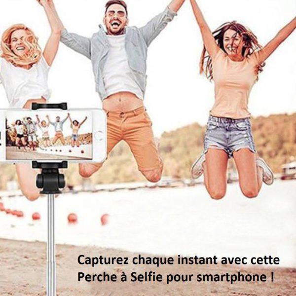 s11 17d83c6c 0633 4638 a5de f1e96f7fac35 Perche À Selfie 4-En-1 Avec Télécommande Bluetooth