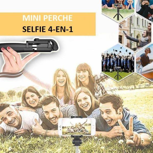 s1 d254ad65 07b2 41ca aaa5 61707c7ebb19 Perche À Selfie 4-En-1 Avec Télécommande Bluetooth