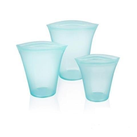 Conteneurs Alimentaires Réutilisables Raton Malin Bleu 3 tasses bleues