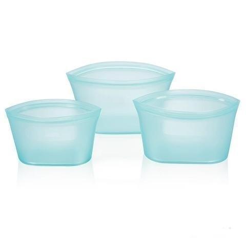 Conteneurs Alimentaires Réutilisables Raton Malin Bleu 3 bols bleus
