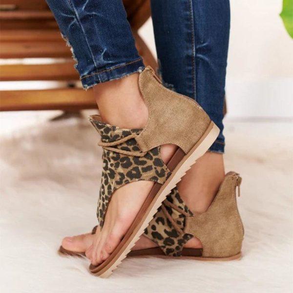 sandalesalacetcheville Les Sandales Confortables À Lacets Pour Femme