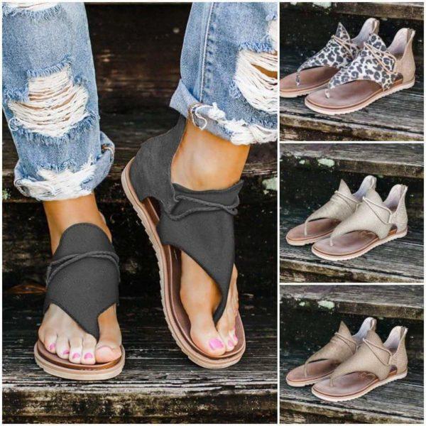sandalesconfortables Les Sandales Confortables À Lacets Pour Femme