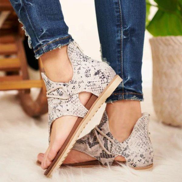 sandaleslacets Les Sandales Confortables À Lacets Pour Femme