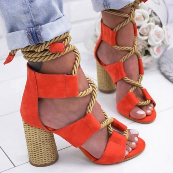 sandaletalon Les Sandales Cuir À Lacets Pour Femme Au Look Casual Chic