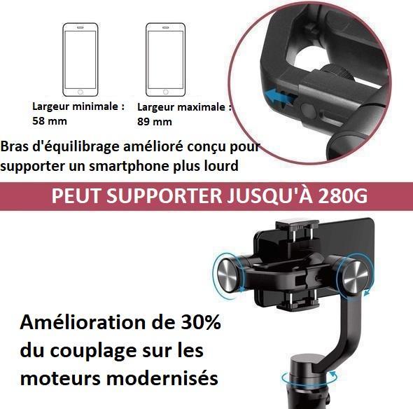 smart4 2d003cf0 dca7 4506 9025 0984d3d14026 Stabilisateur Intelligent 3D Pour Smartphone