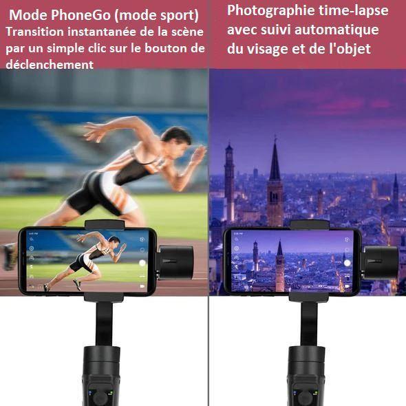 smart6 Stabilisateur Intelligent 3D Pour Smartphone