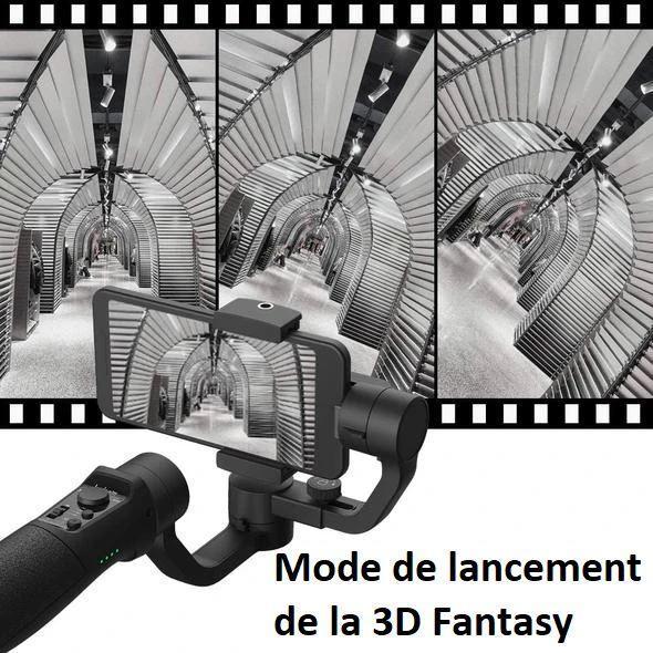 smart7 Stabilisateur Intelligent 3D Pour Smartphone