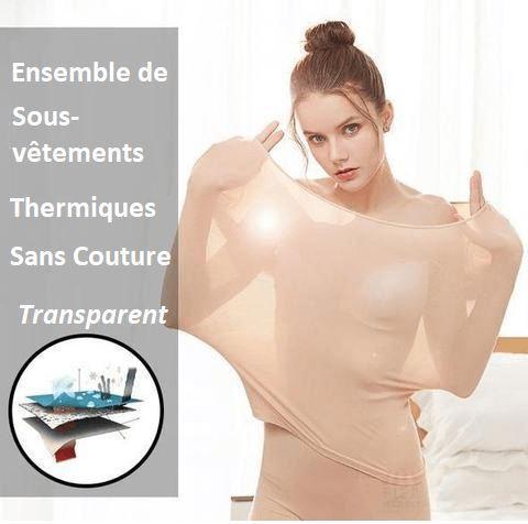 sous1 large ba8c8a3d f14f 455f 98c4 8fc62a9ab79a Ensemble De Sous-Vêtements Thermiques Sans Couture (2 Pièces)