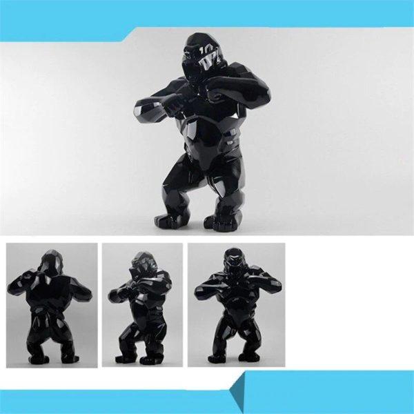 statuegorilleresine Statue Gorille Résine, Le Meilleur Objet De Décoration En Intérieur