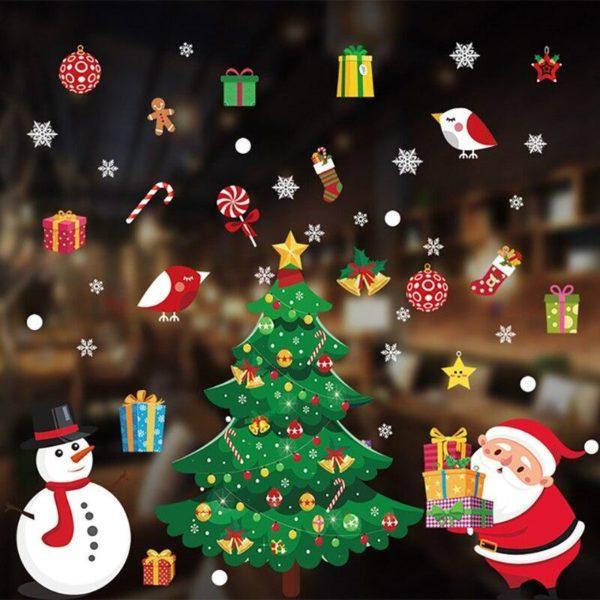 stickersnoelfenetre c46bb24f 4a0b 45c2 a98c b0f9be72ec33 Stickers De Noël Pour Fenêtres