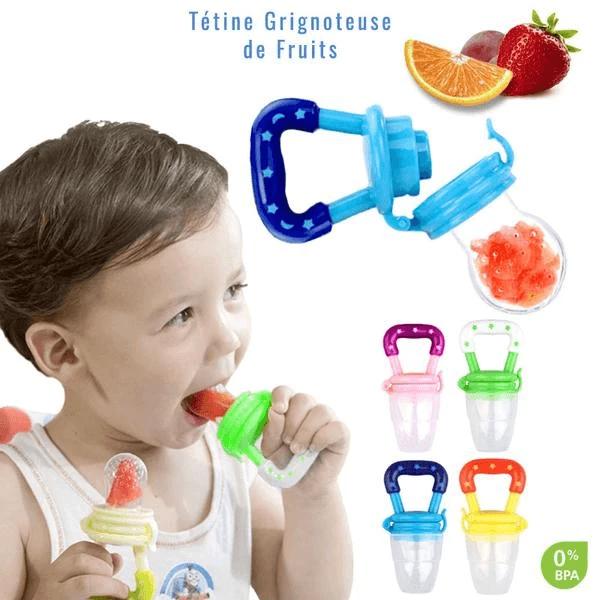 sucette bebe fruit Tétine Grignoteuse, La Meilleure Tétine Pour Enfant