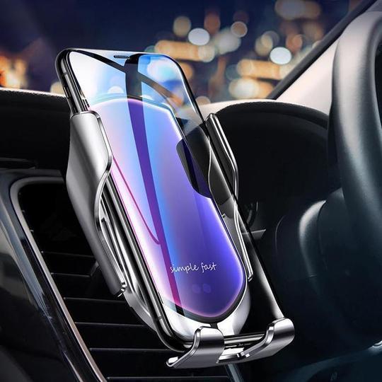 support telephone voiture induction Chargeur Induction Voiture, Le Meilleur Moyen De Recharger Son Smartphone En Voiture
