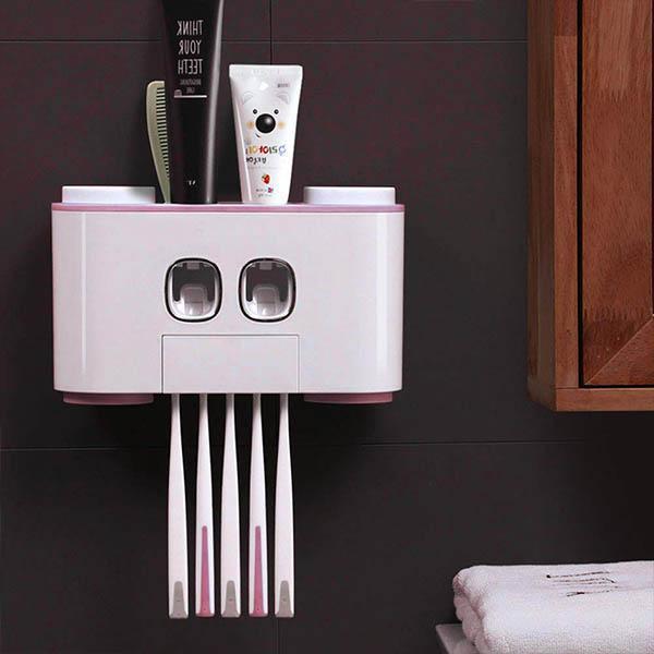 t4 Distributeur De Dentifrice À Compression Automatique