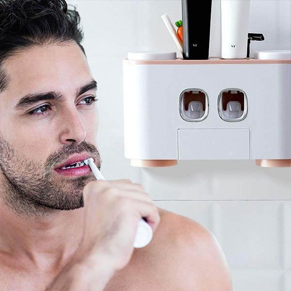 t5 Distributeur De Dentifrice À Compression Automatique