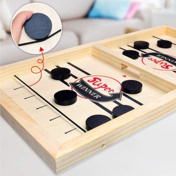 tableairhockey Table Air Hockey En Bois