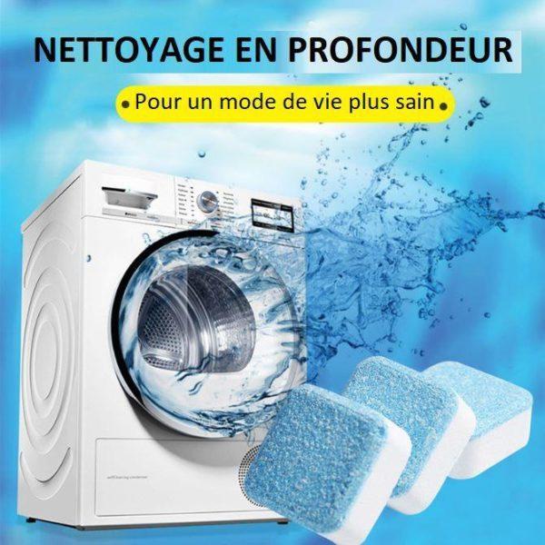 tablette2 Tablettes Effervescentes - Nettoyage En Profondeur De Votre Machine À Laver   Lave-Linge