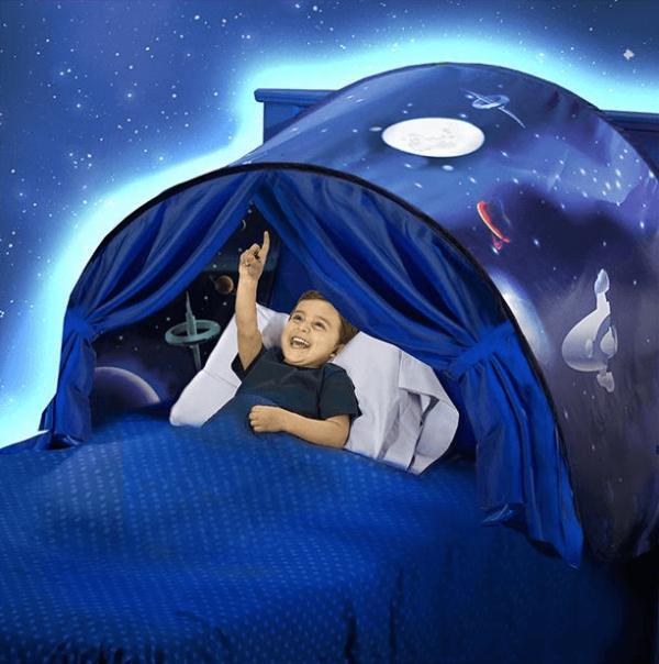 tente de lit garcon2 Tente De Lit Enfant, Le Meilleur Moyen D'endormir Ses Enfants