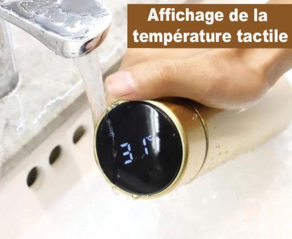 thermos4 Bouteille Thermo Isotherme Avec Affichage De Température