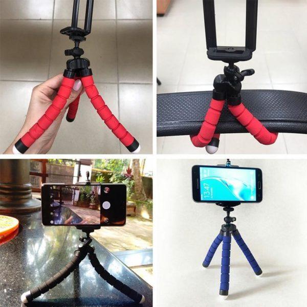 trepied appareil photo Trépied Flexible : Le Dispositif Idéal Pour Des Selfies De Folie !