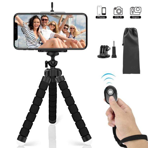 Trépied Flexible : Le Dispositif Idéal Pour Des Selfies De Folie !