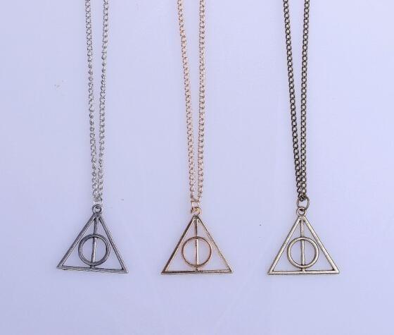 """triangle6 Collier Pendentif Harry Potter """"Reliques De La Mort"""""""