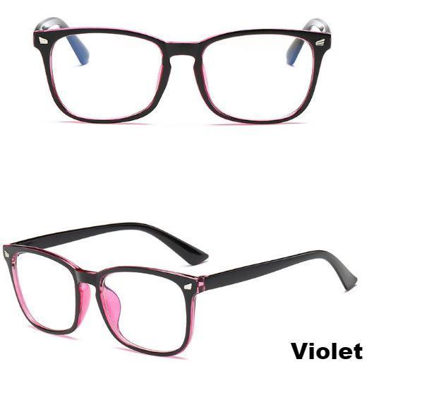 violet Lunettes De Jeu Protectrices