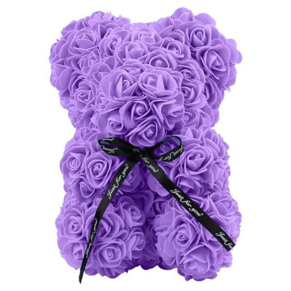 violet 4b4825bd 5cec 4fbd 8dac b23f940c19d5 Ours En Peluche Roses