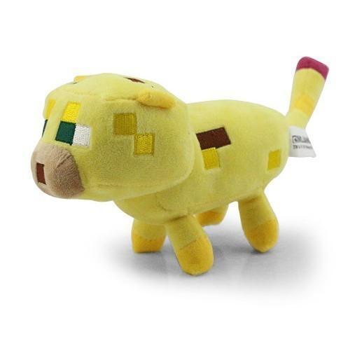 yellowocelot 8b1844f5 7d65 4d1b 8cc4 b545fb0fde64 Peluche Minecraft - Yellow Ocelot