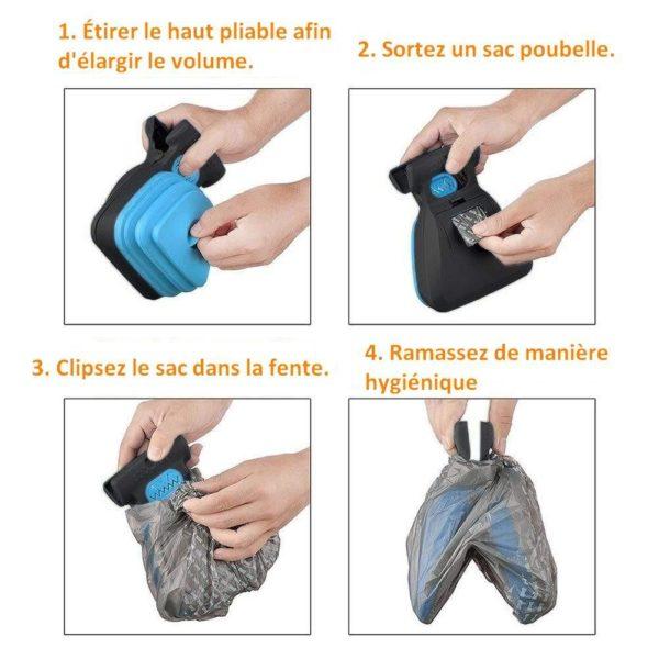 zaeaeg Natural ™ - Pince Ramasse-Crottes Pour Chiens Et Chats (Dernière Génération) - Animal Protect®