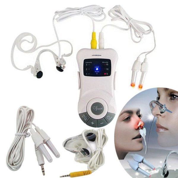 0 Laser bionase nez rhinite sinusite Laser traitement par impulsions Anti ronflement nez Clip th rapie Massage Dispositif Anti-ronflement : Débouchez Votre Nez en Seulement Quelques Minutes!