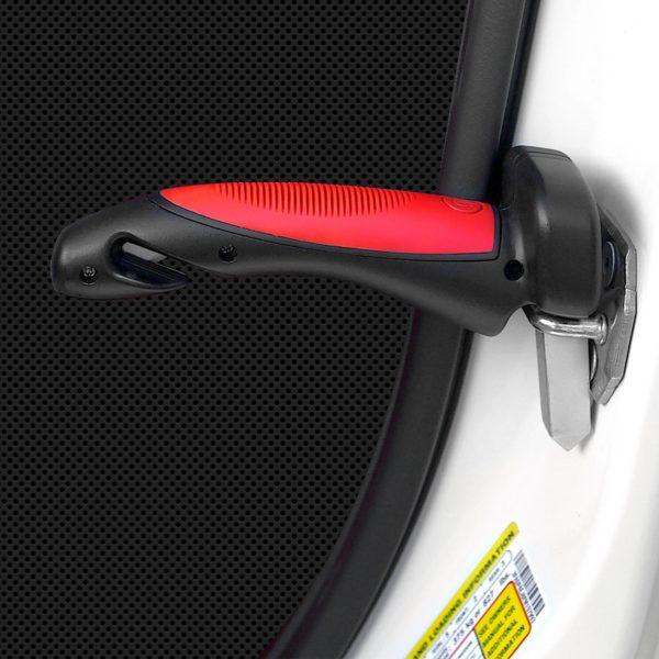 1 pi ces tout en 1 voiture Portable poign e canne int gr lampe de poche Poignée De Support De Voiture : Facilite L'entrée Et La Sortie Dans N'importe Quelle Voiture