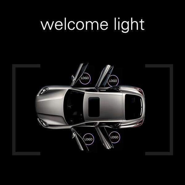 1 st cke Drahtlose Led Auto T r Willkommen Laser Projektor Logo Geist Schatten Licht f grande a7e95041 894a 4879 9996 06d56bc0f2ec Logo Led Pour Voiture : Projecteur Pour Portière (2 pcs)