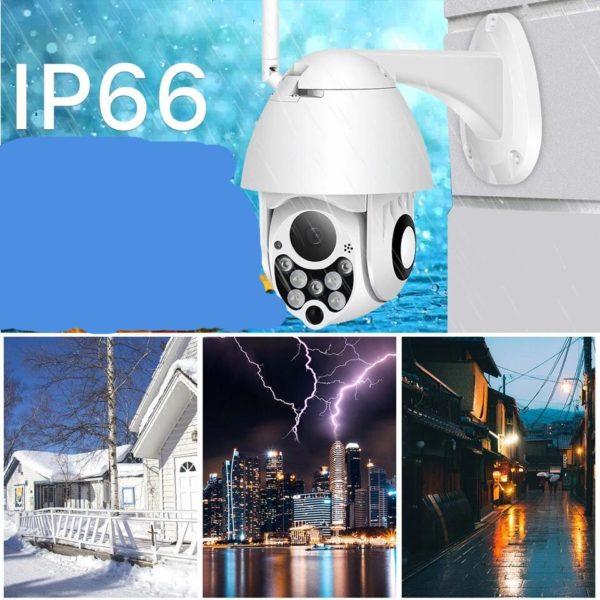 1080P PTZ IP cam ra Wifi ext rieur vitesse d me sans fil Wifi cam ra d88dc292 935c 4e2a 8b53 bdb6bd62bfdf Caméra De Surveillance Extérieure : Étanche À L'eau Et À La Poussière