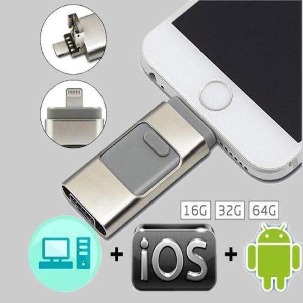 11 Clé Usb 3 En 1 Pour Smartphone: Sauvegardez Et Restaurez Votre Liste De Contacts