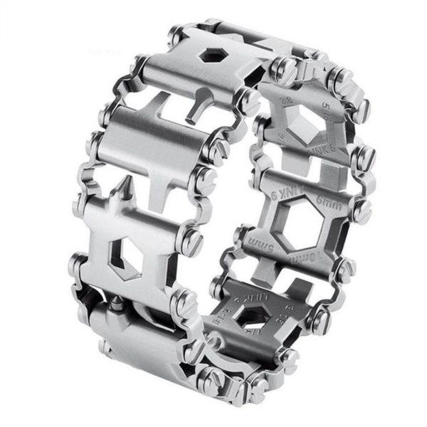 111 29 Dans 1 Bracelet Multi-outils: De Tournevis Et De Clés Hexagonales Et Beaucoup D'outils Utiles Au Poignet