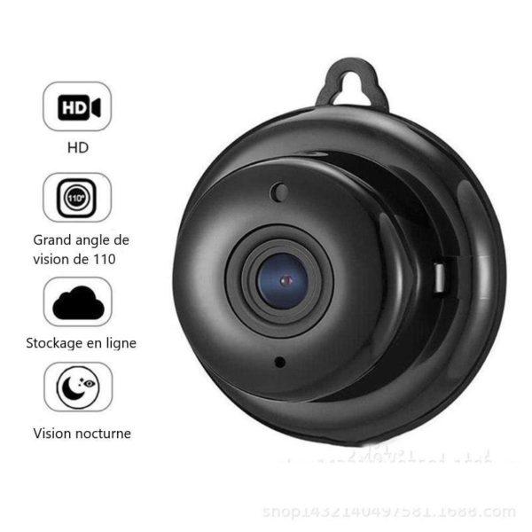 1 H54207eea7c6846d49eda431cc99f49e4A Mini Caméra De Surveillance: prend des photos et des vidéos instantanées
