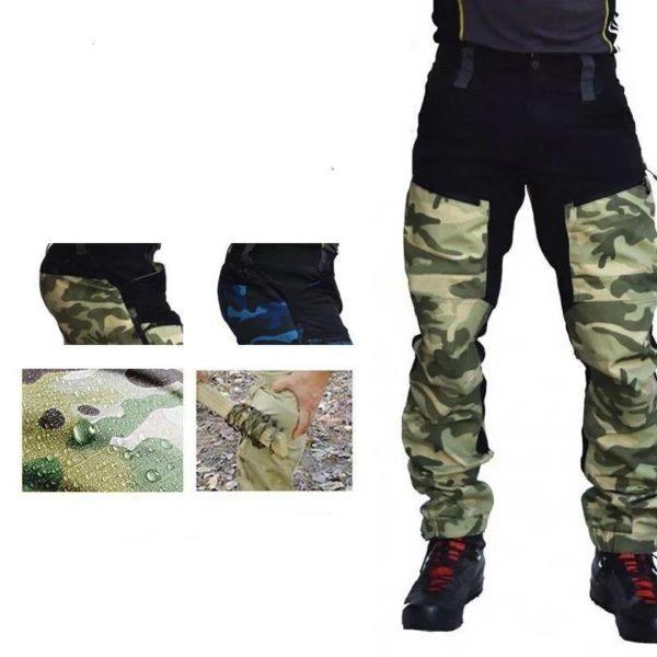 Pantalon Casual Camouflage: Respirant Et Confort Incroyable - vert / M(106.5 cm)