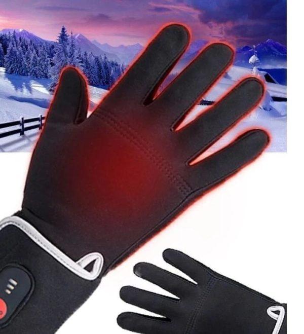Gants Chauffants Électriques : Parfaits Pour Toute Activité de Plein Air et Par Temps Froid - XS( 18cm-21cm)