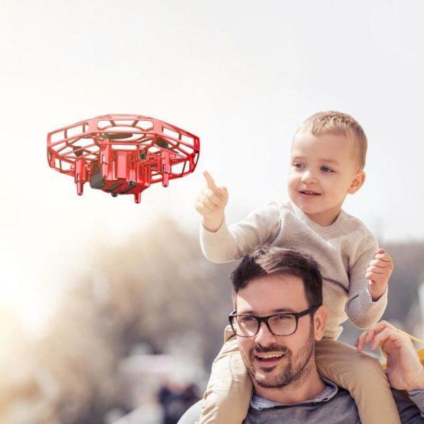 Mini Jouet Drone: Un Amusement Sans Fin Pour Toute La Famille - Rouge