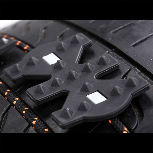 2 pi ces hiver antid rapant universel noir r sistant l usure roue pneu anti d d8044235 6a21 49a6 9a9a 48f7b2de0ea9 Chaînes De Pneus de Voiture :une Attache Spéciale Dotée D'une Puissante Technologie