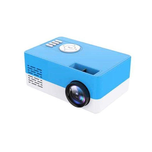 Mini Vidéoprojecteur LCD : Portable et Compact Maison Cinéma - bleu