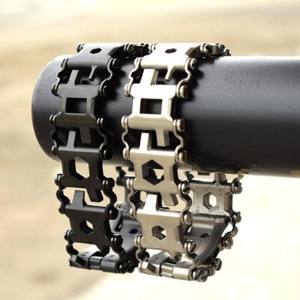 29Dans1BraceletMulti outils 8 29 Dans 1 Bracelet Multi-outils: De Tournevis Et De Clés Hexagonales Et Beaucoup D'outils Utiles Au Poignet