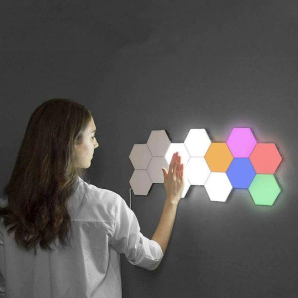 2 1 b585dc80 44a1 479b a1b8 52179072ac85 Lampe À LED Magnétique : Lumières Tactiles Modernes et Flexibles