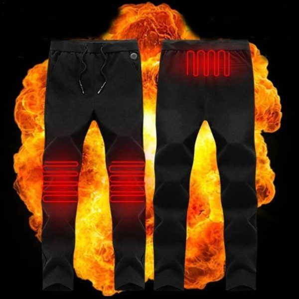 Pantalon Chauffant Électrique : Gardez Vos Jambes Au Chaud Tout L'hiver - M(98 cm)