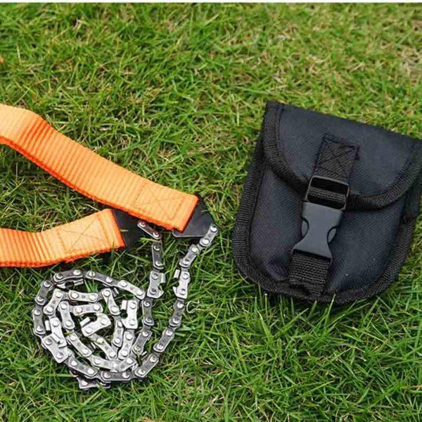 2 deaf00d8 26ac 4894 9109 c395390cc52b Mini Tronçonneuse De Survie D'urgence: Une grande pour aventure en plein air, la chasse et le camping