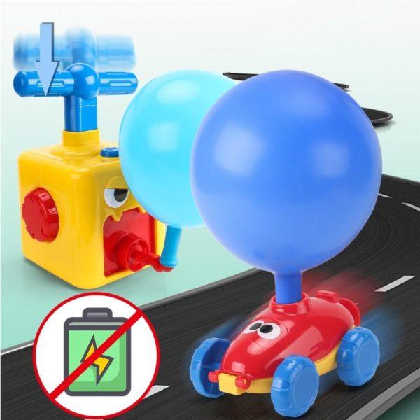 3 NEUE Power Ballon Starten Turm Spielzeug Puzzle Spa Bildung Tr gheit Air Power Ballon Auto Wissenschaft 1024x1024 97f298fe 44f4 4bed bedf df7ce0c5eebd Jouet De Voiture Ballon: Le Jeu Amusant Et Surtout Éducatif !